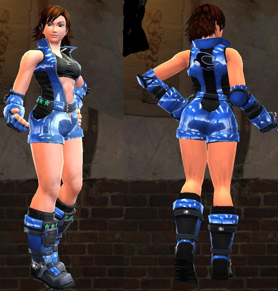 PRT 5 Asuka Blue Tekken MZ Fan Fiction: Part 5.