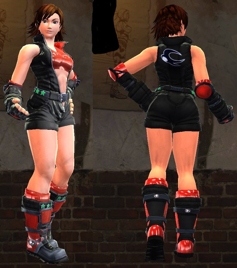 PRT 10 Asuka black Tekken MZ Fan Fiction: Part 10.