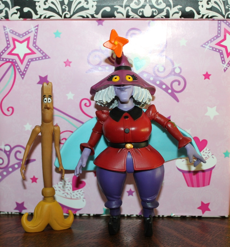 001 Masters of the Universe Club Etheria: August  Madame Razz and Broom!