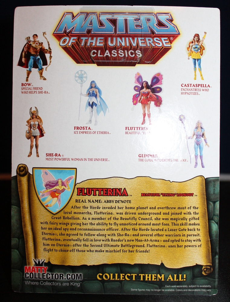 016 Masters of the Universe Classics: August  NA Skeletor & Flutterina