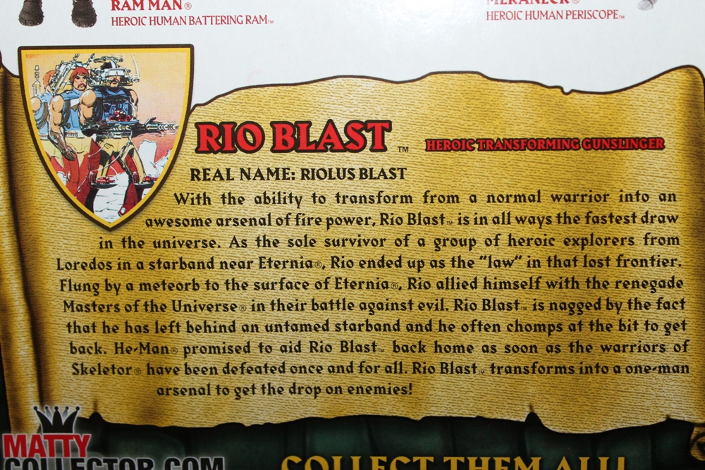 006 Masters of the Universe Classics: September  Rio Blast!