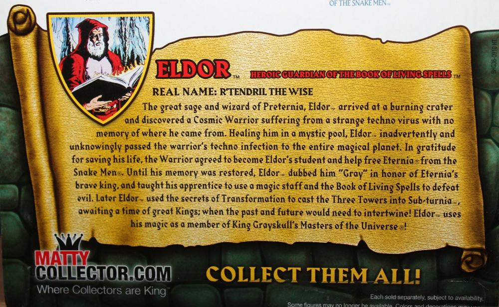177 Masters of the Universe Classics: October  Eldor