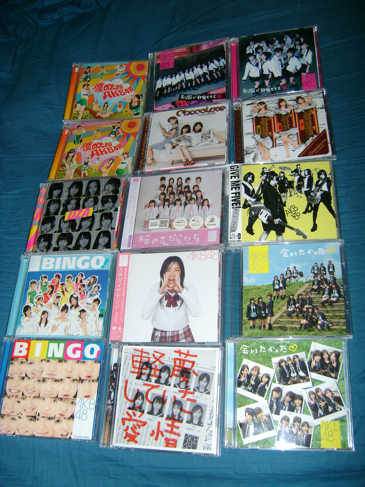 AKB CD 1 AKB48: A Musical Collection!  Part 1.
