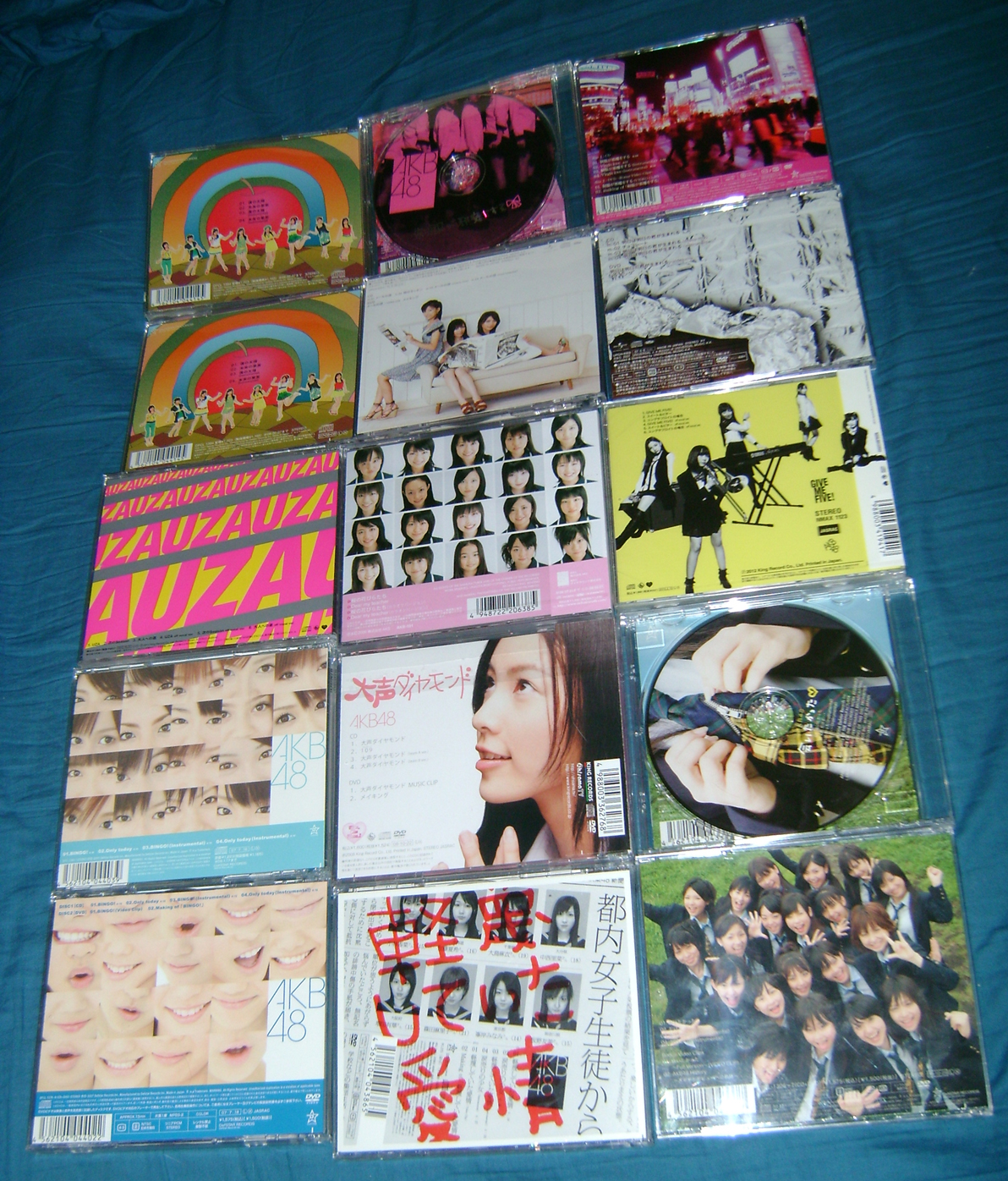 AKB CD 2 AKB48: A Musical Collection!  Part 1.