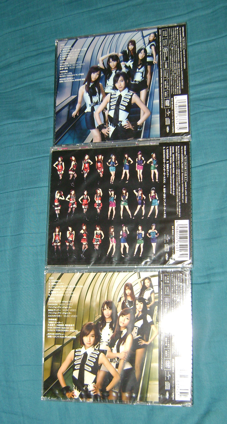 SDN48 CD 2 AKB48: A Musical Collection!  Part 2.