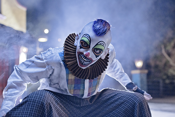 clown Haunting Experience At Knotts Scary Farm 2014