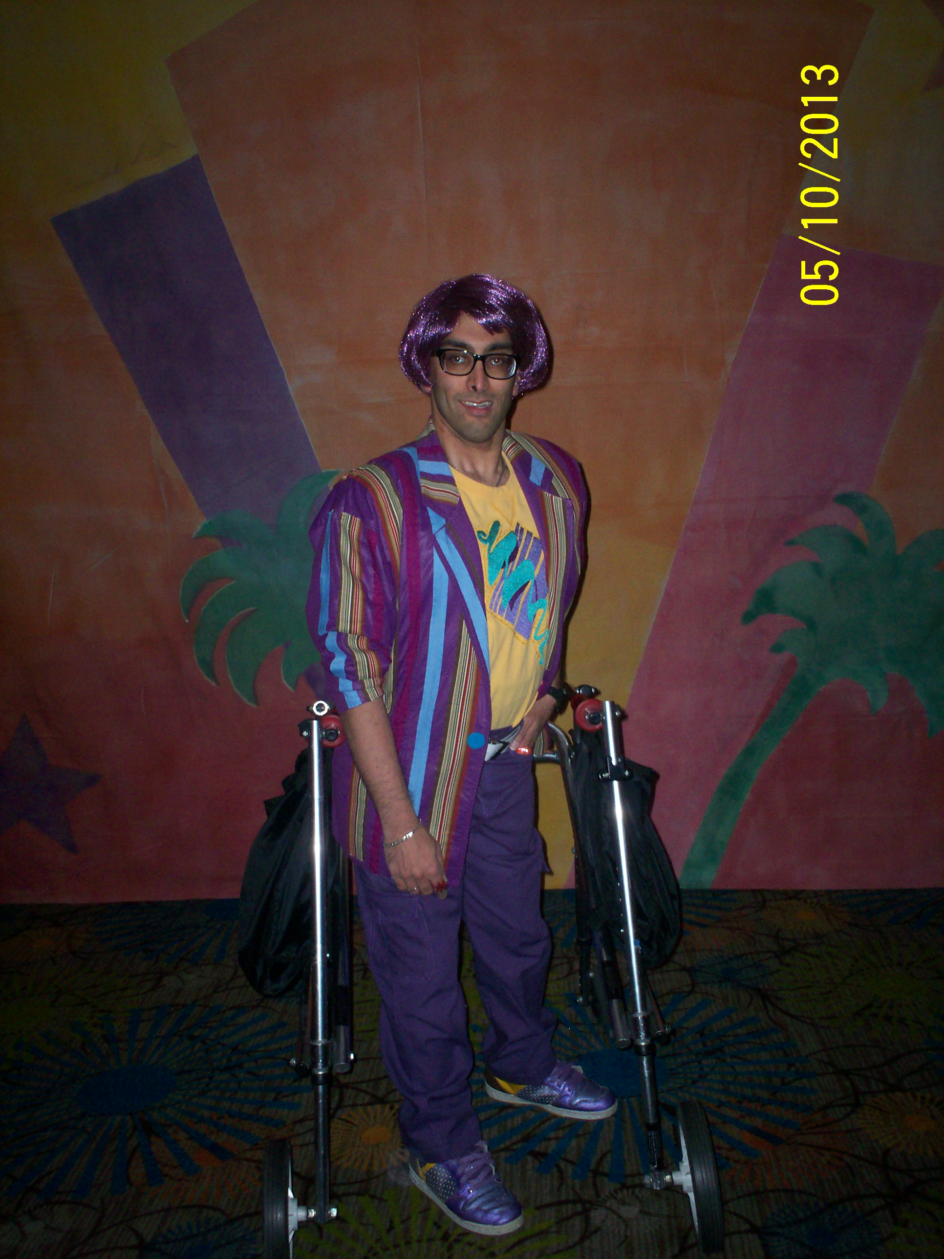 omar2 Glamour, Glitter, and Jemcon: The Truly Outrageous Fans of Jem and the Holograms Part 2