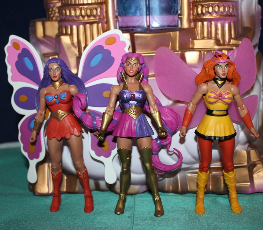 009 Masters of the Universe Club Etheria: October  Sweet Bee and Light Hope!