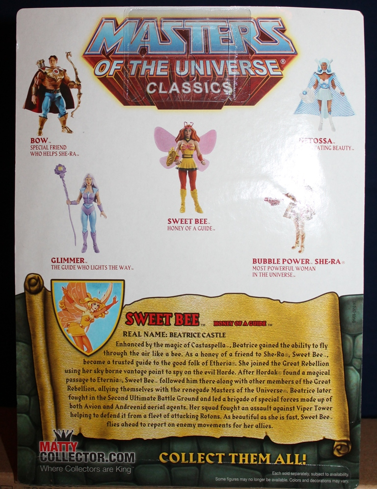 184 Masters of the Universe Club Etheria: October  Sweet Bee and Light Hope!