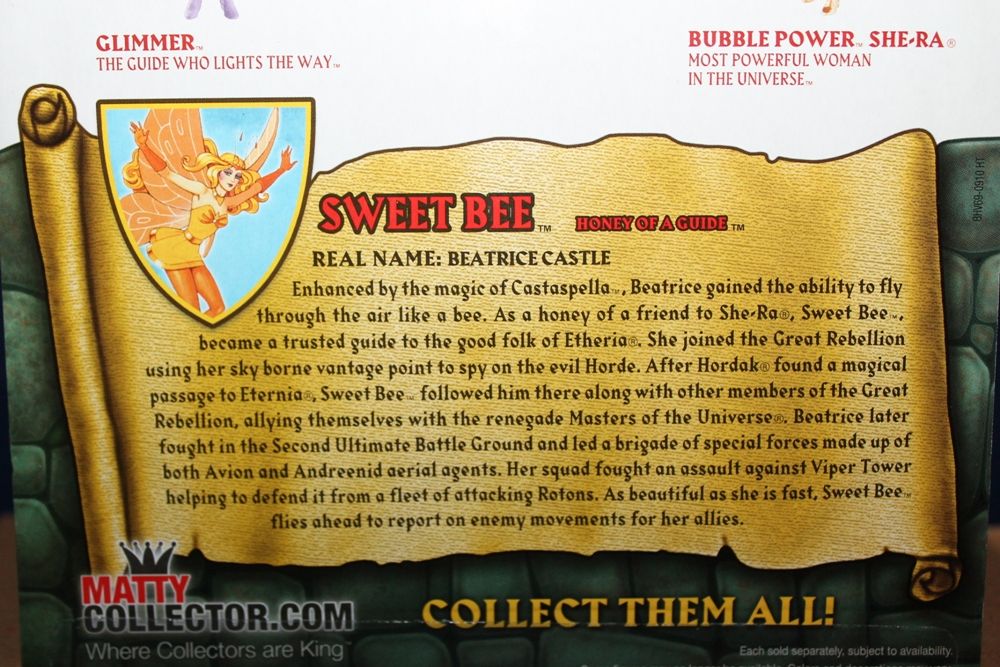 188 Masters of the Universe Club Etheria: October  Sweet Bee and Light Hope!