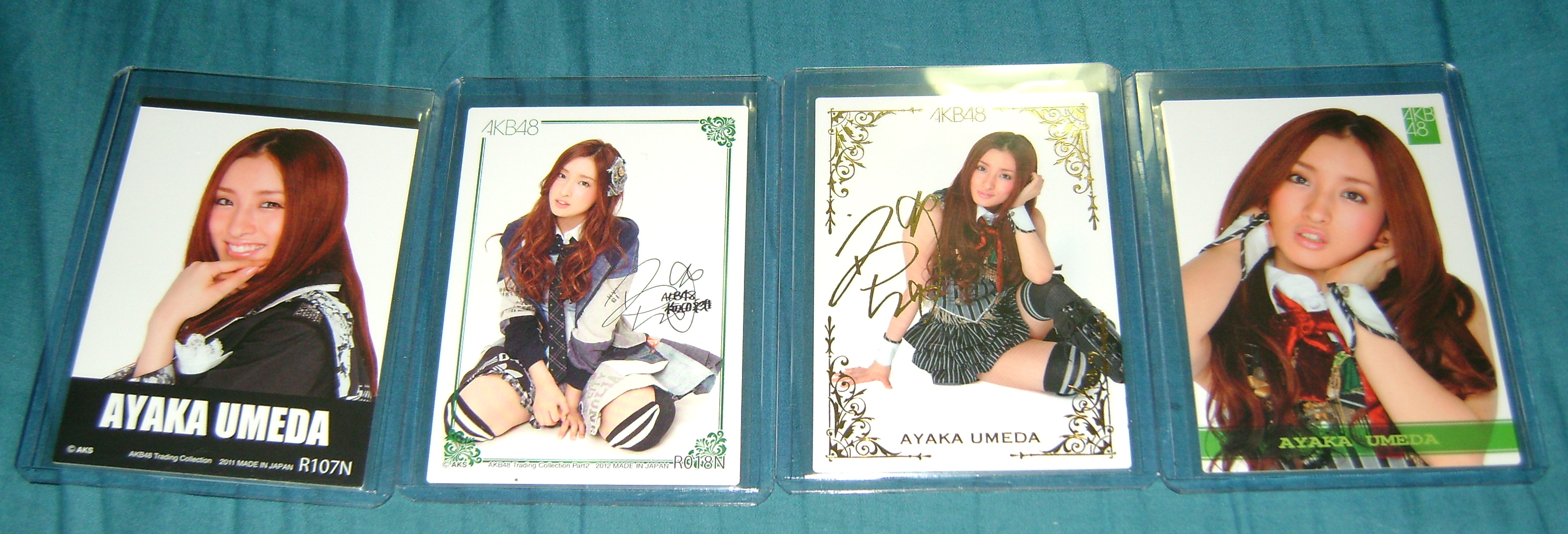 Ayaka cards AKB48, A Musical Collection; Part 5!