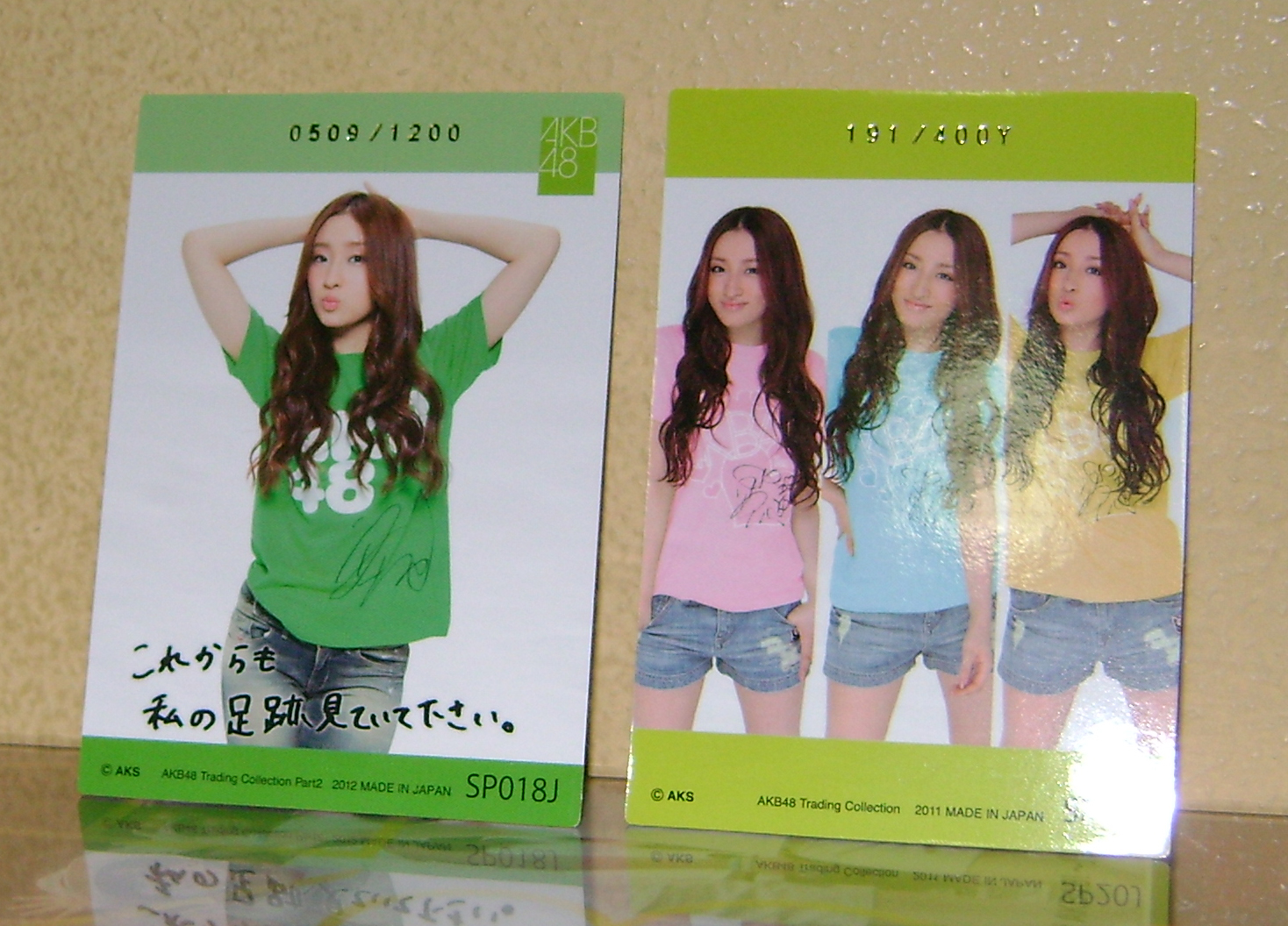 Ayaka swatch cards 2 AKB48, A Musical Collection; Part 5!