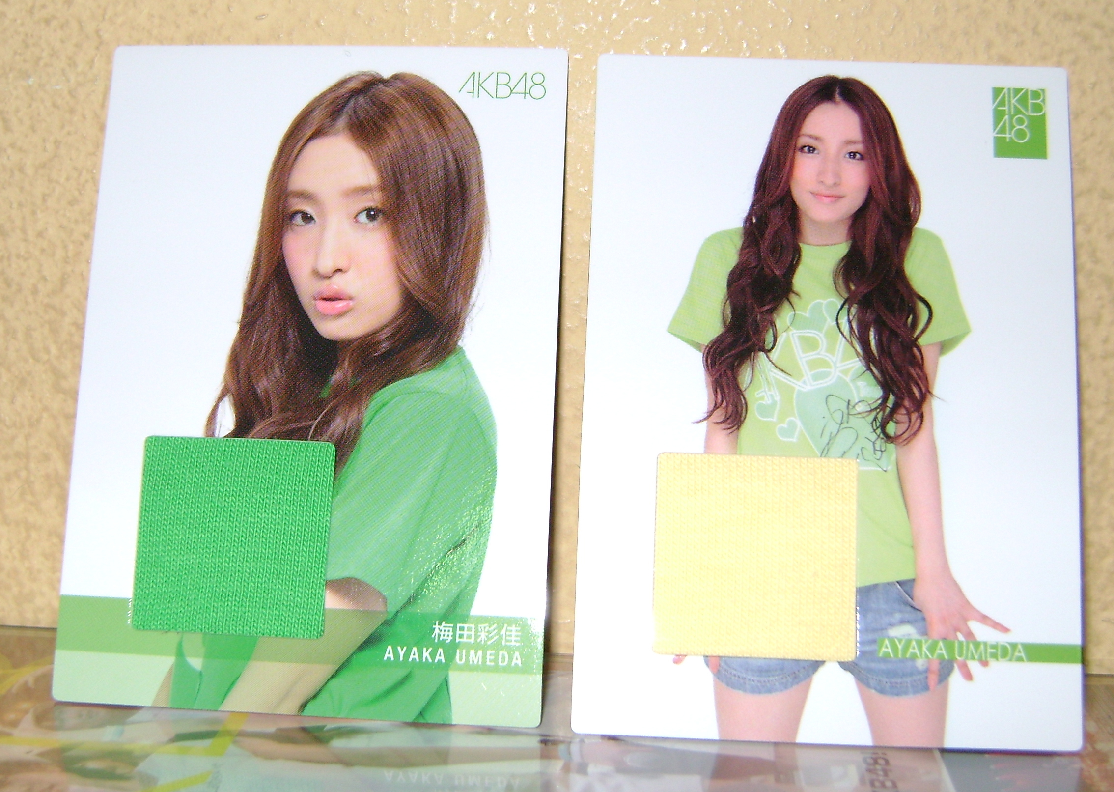 Ayaka swatch cards AKB48, A Musical Collection; Part 5!