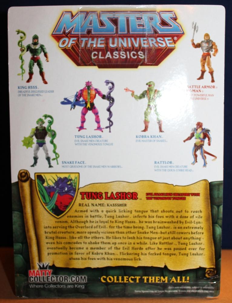 003 Masters of the Universe Classics: November  Tung Lashor & Arrow!