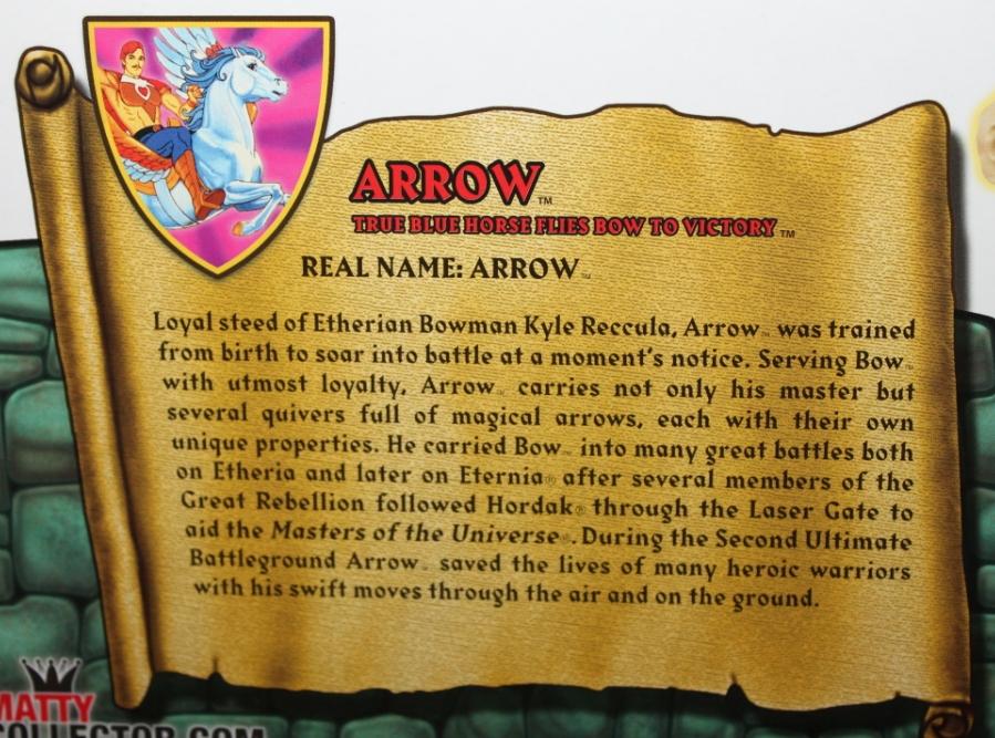 016 Masters of the Universe Classics: November  Tung Lashor & Arrow!