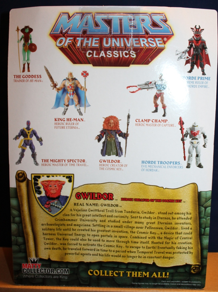 005 Masters of the Universe Classics: December  Gwildor and Mermista!