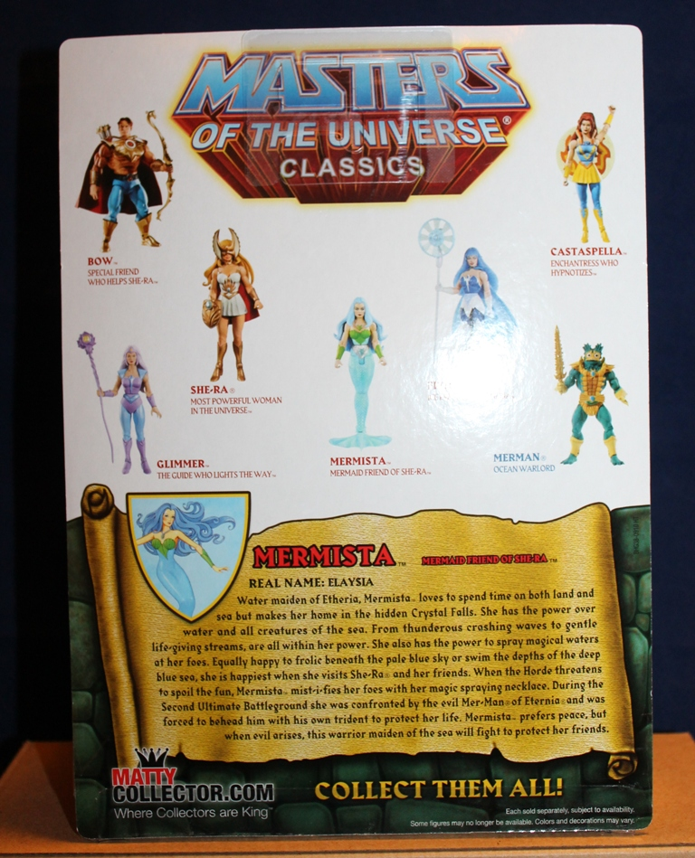 009 Masters of the Universe Classics: December  Gwildor and Mermista!