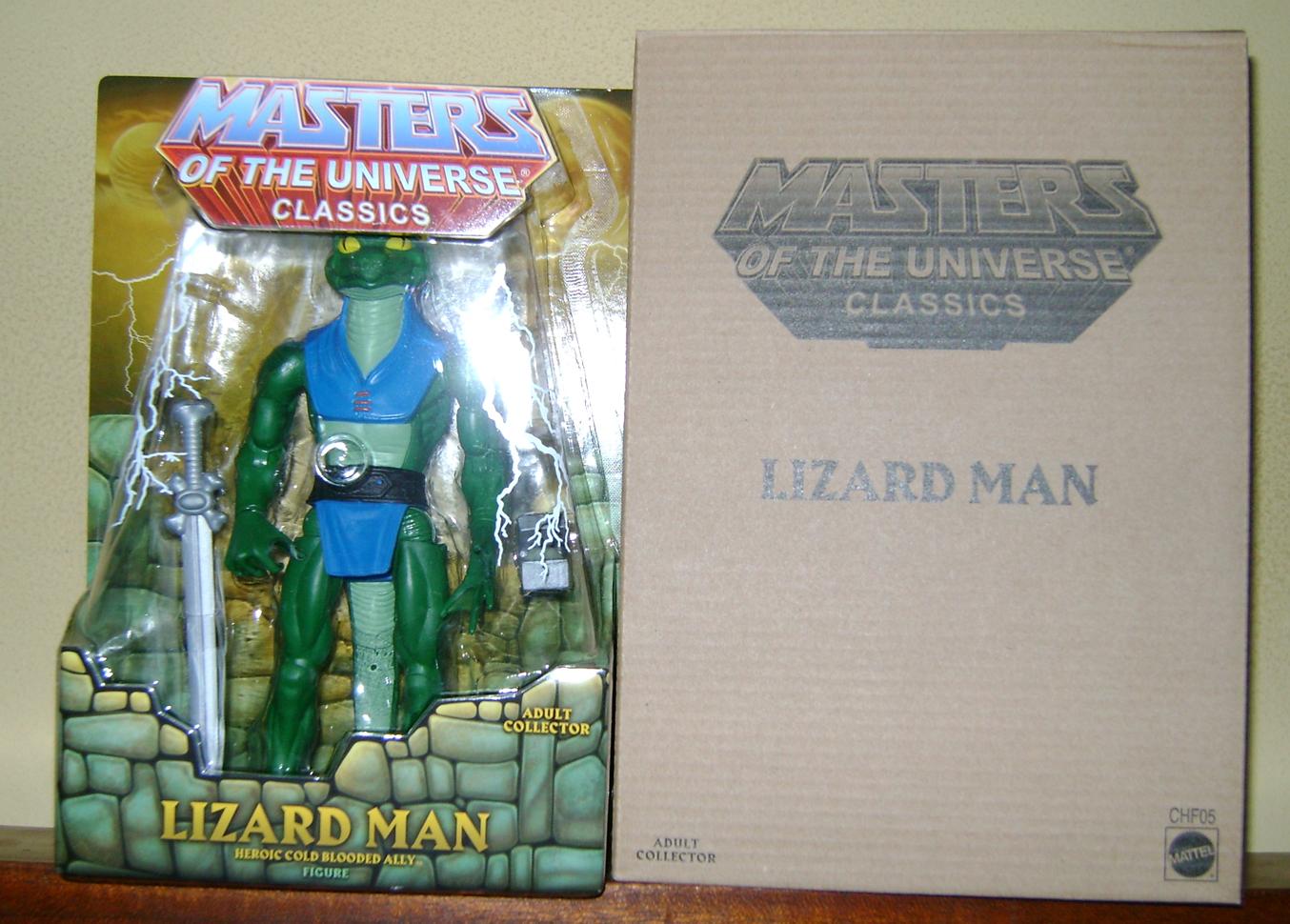 Liz 1 MOTUC: 2015; Jan Lizard Man!