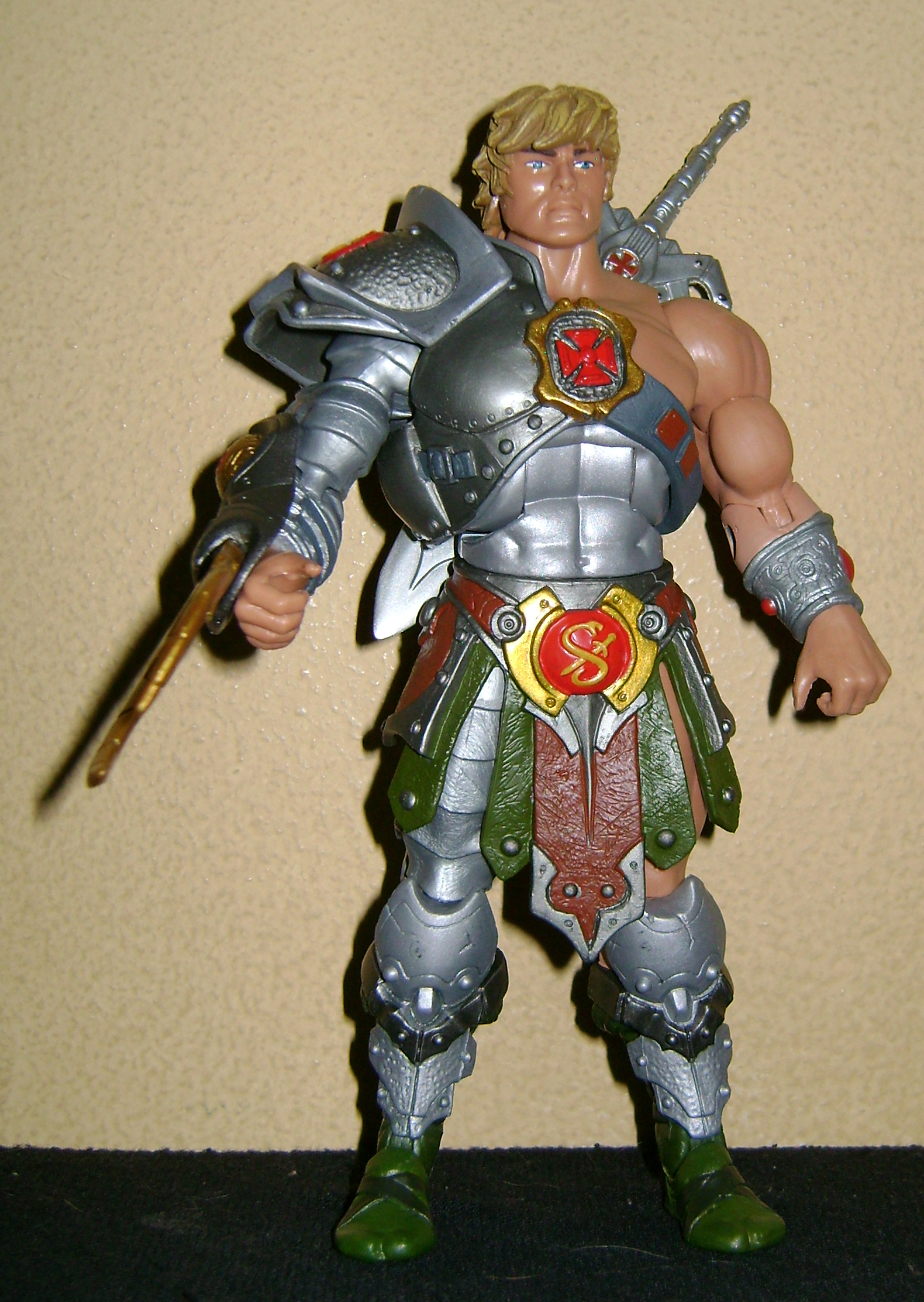 HeKH 3 MOTUC: 2015; Feb {Part 2} Snake Armor He Man and King Hssss!