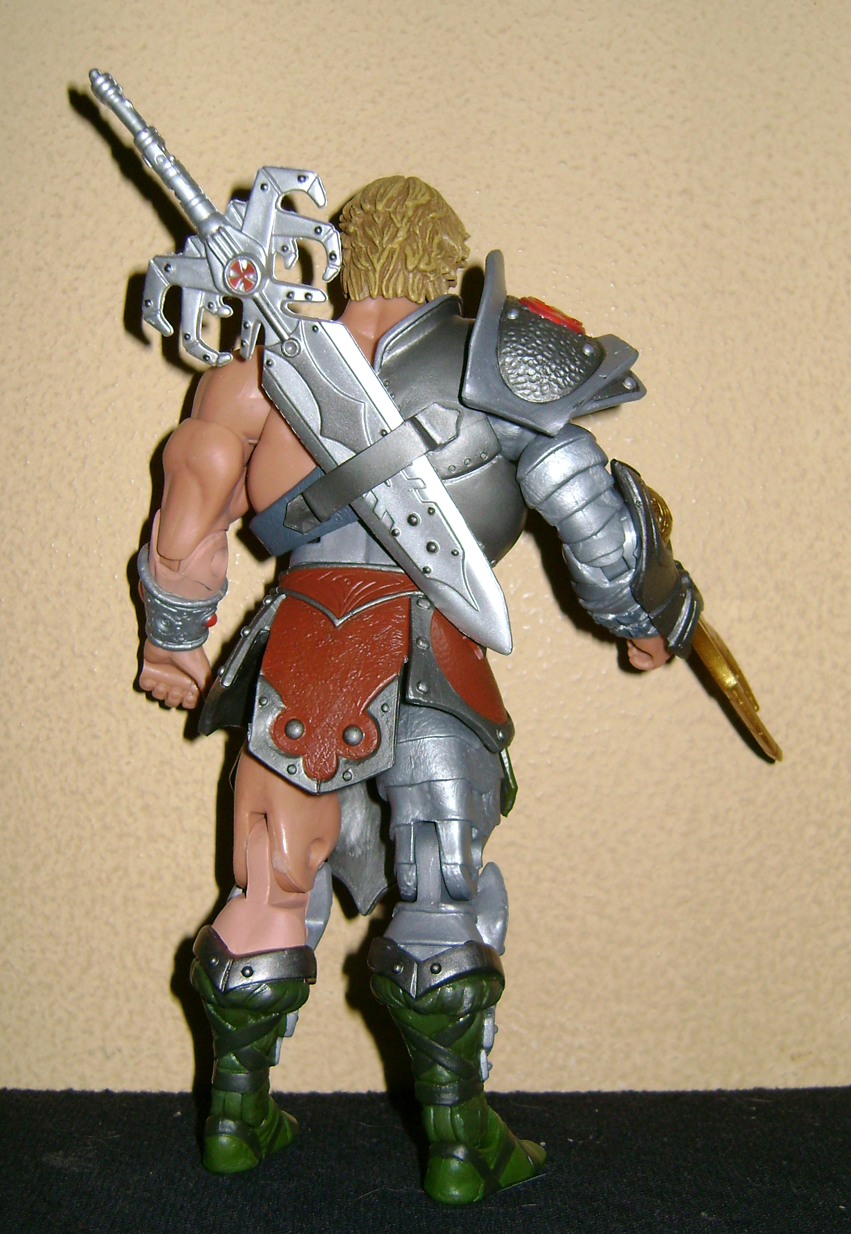 HeKH 4 MOTUC: 2015; Feb {Part 2} Snake Armor He Man and King Hssss!