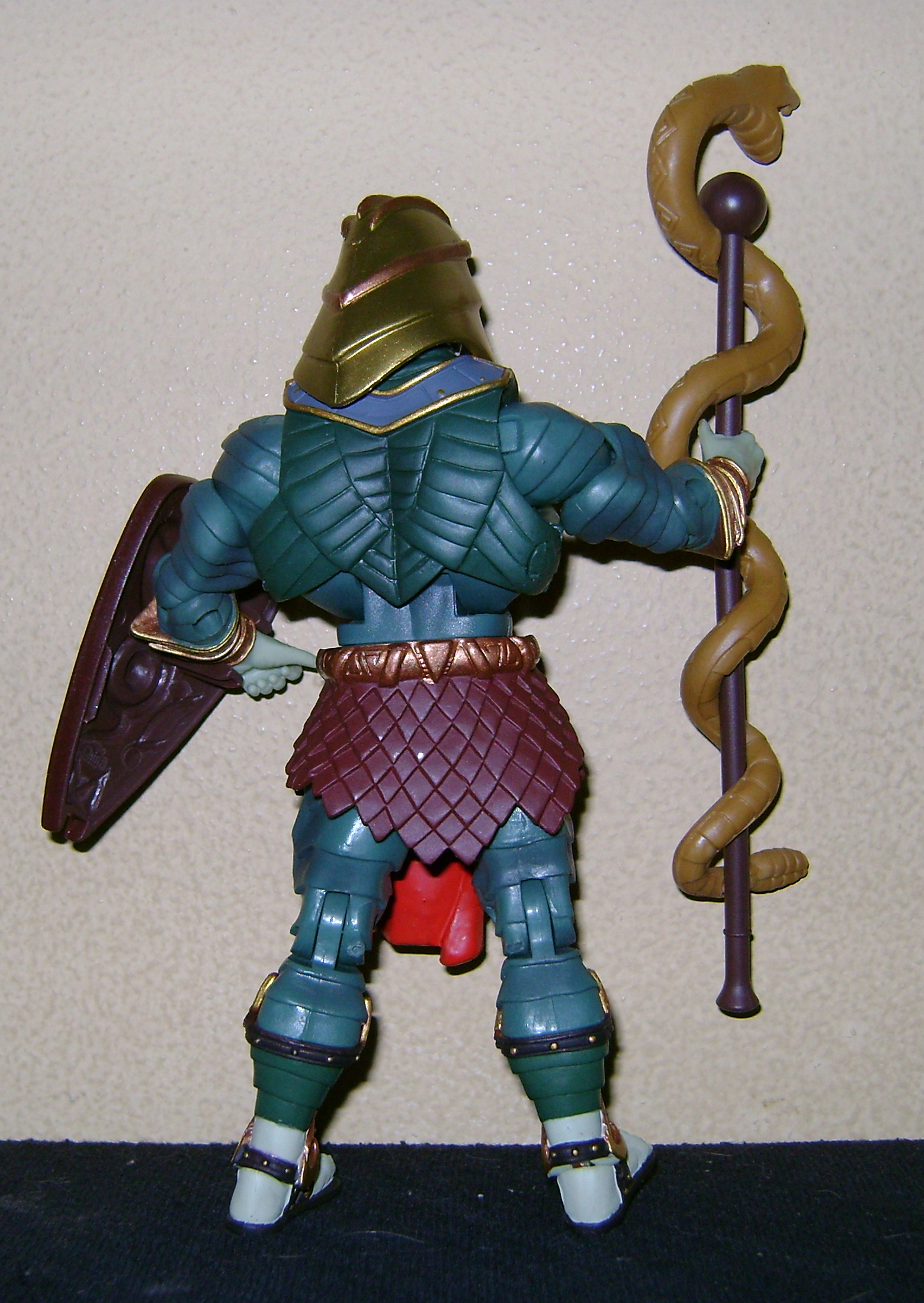HeKH 6 MOTUC: 2015; Feb {Part 2} Snake Armor He Man and King Hssss!