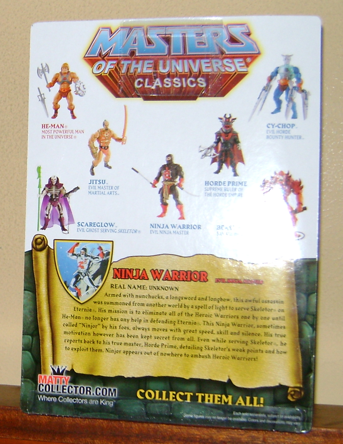 Ninjor 2 MOTUC: 2015; Feb {Part 1} Ninjor!