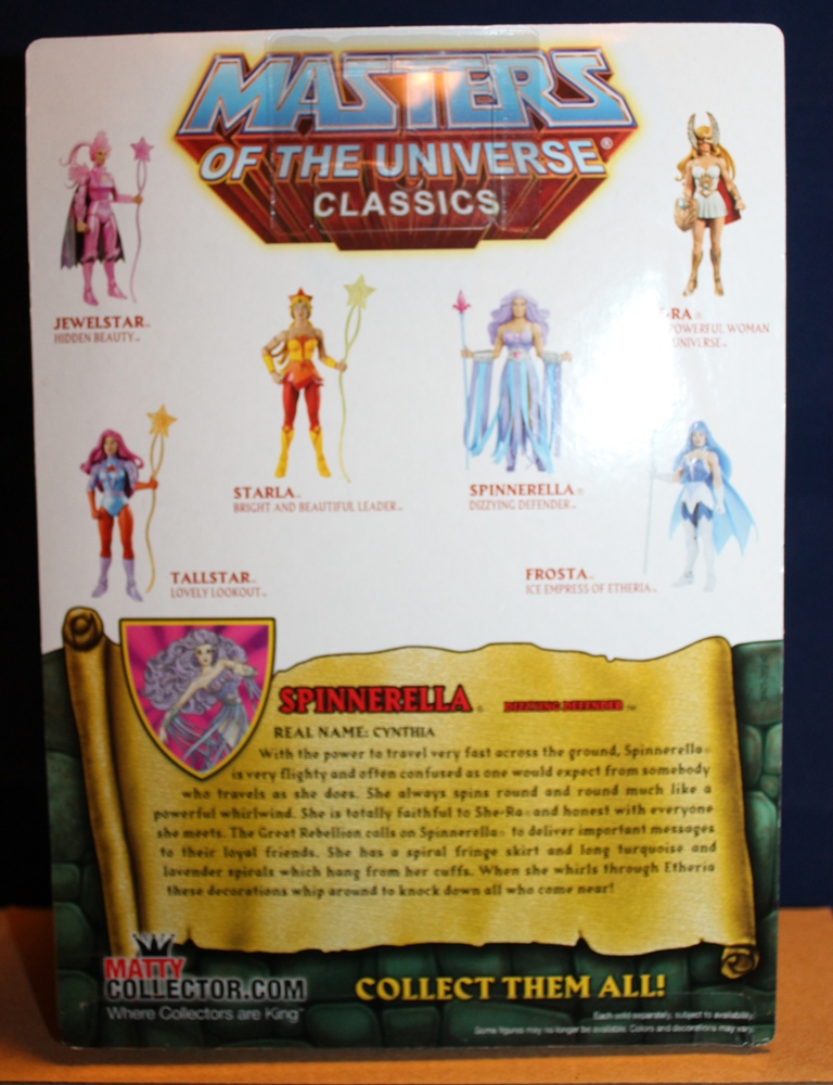 0141 Masters of the Universe Club Etheria: December  Spinnerella!