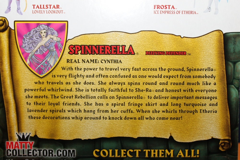 0151 Masters of the Universe Club Etheria: December  Spinnerella!