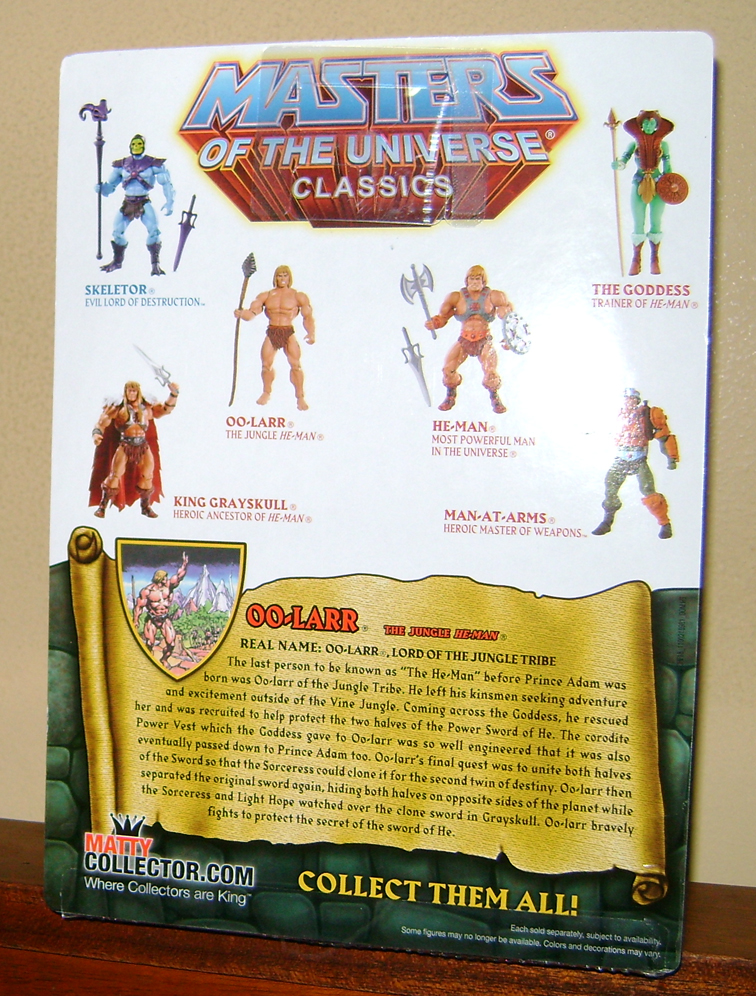 "HeMan 2 MOTUC 2015: March  Exclusive Figure ""Oo Larr?"""