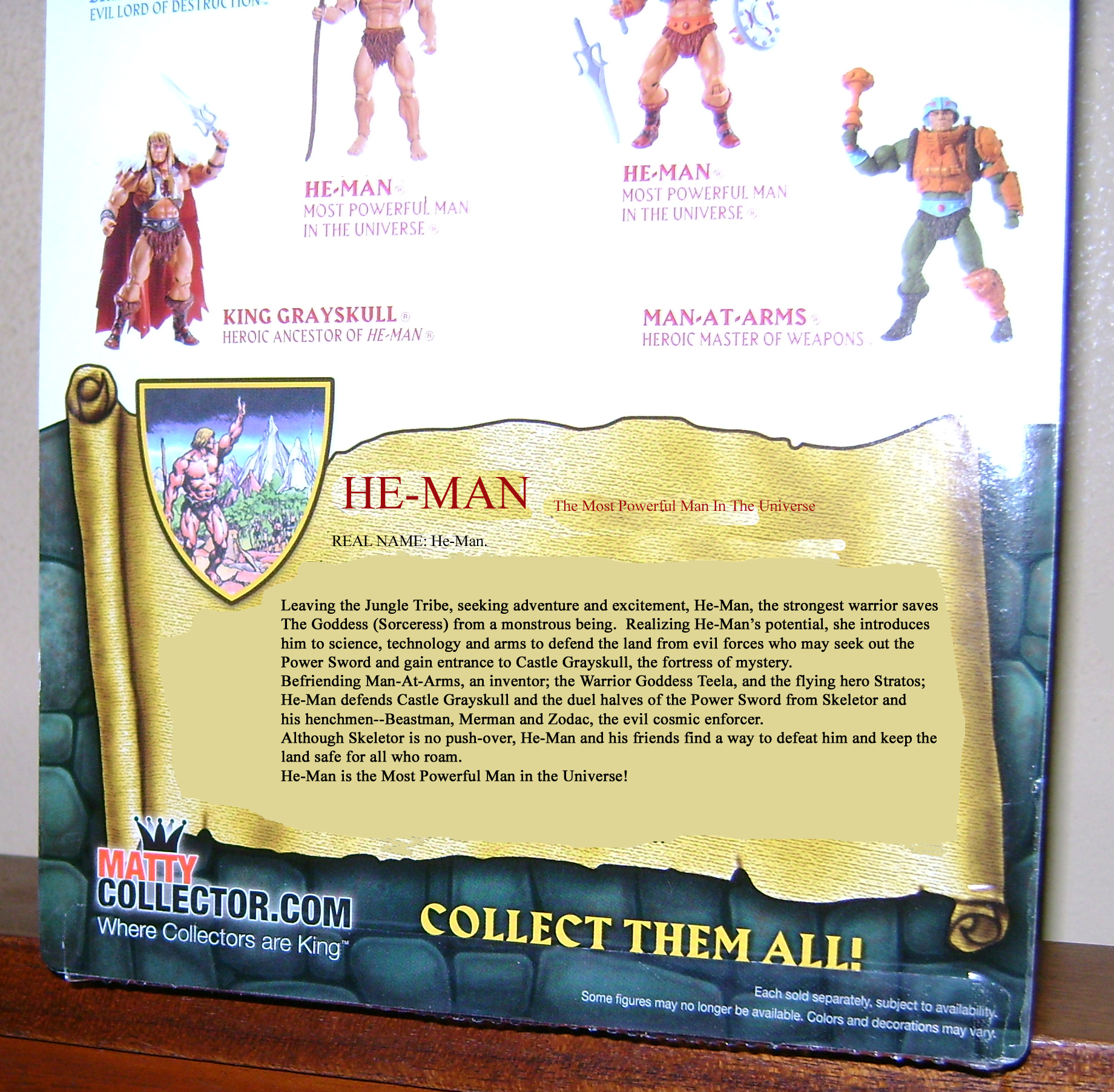 "HeMan 7 MOTUC 2015: March  Exclusive Figure ""Oo Larr?"""