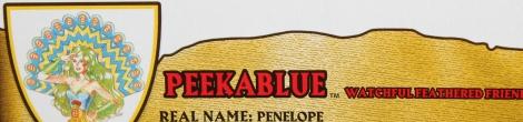 MOTUC 2015: July- Peekablue!