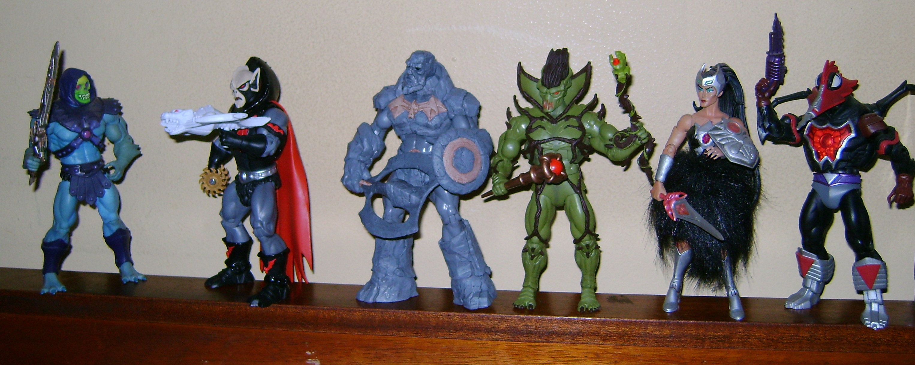 Aug 26 MOTUC 2015 And 200X Special Subscription  Aug: Buzz Saw Hordak, Evil Seed and Heads of Eternia!