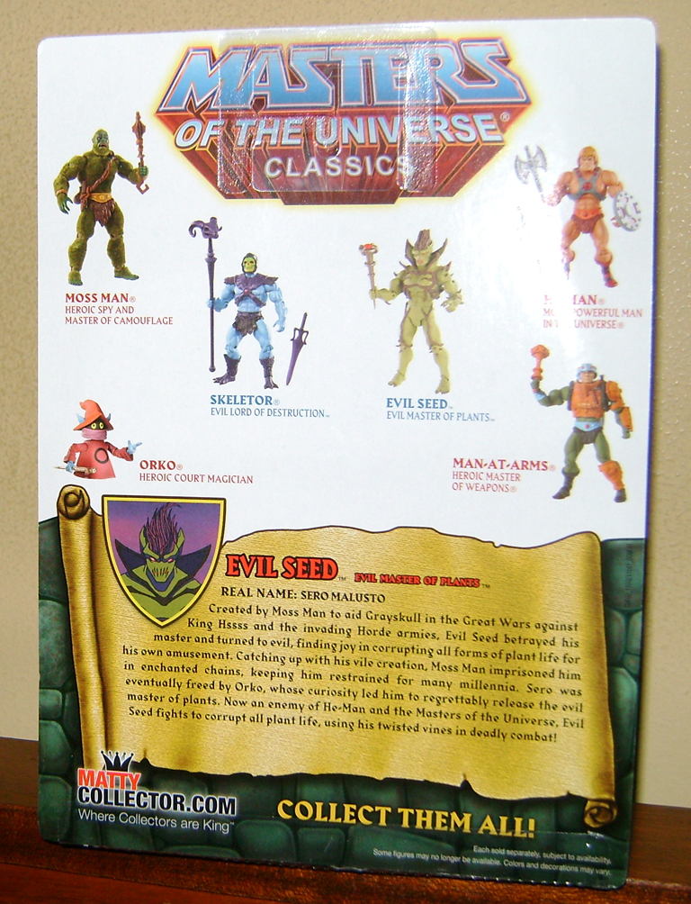 Aug 5 MOTUC 2015 And 200X Special Subscription  Aug: Buzz Saw Hordak, Evil Seed and Heads of Eternia!