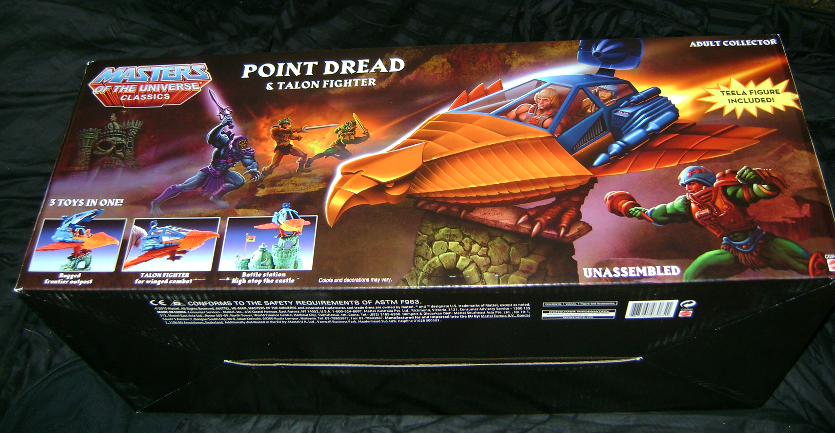 PD 1 MOTUC Special: Talon Fighter And Point Dread!