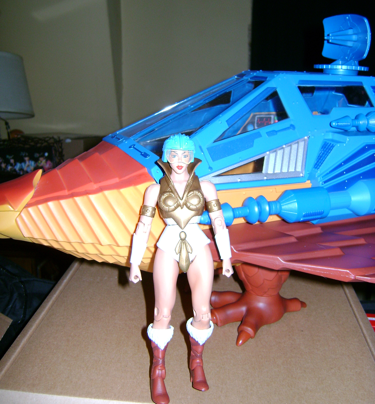PD 16 MOTUC Special: Talon Fighter And Point Dread!