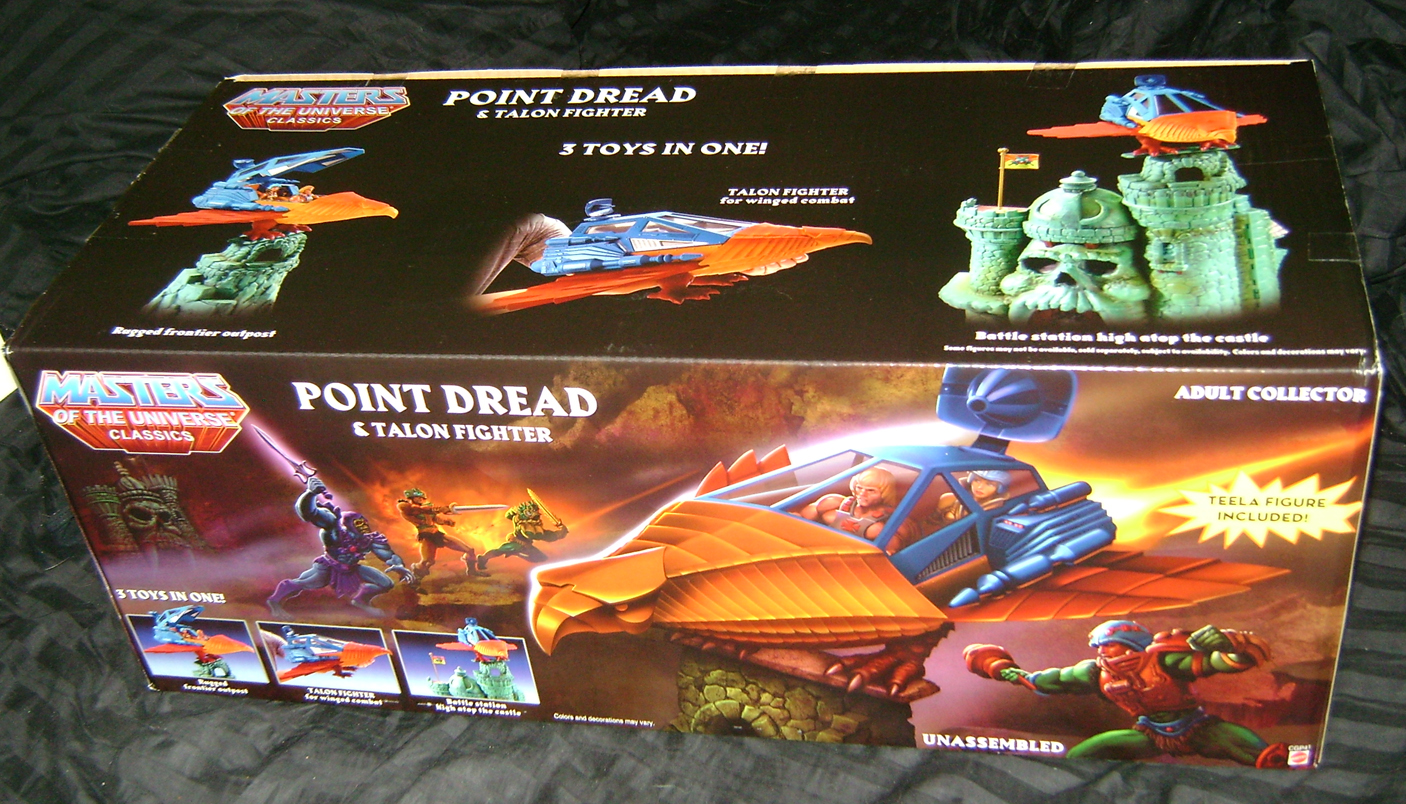 PD 2 MOTUC Special: Talon Fighter And Point Dread!