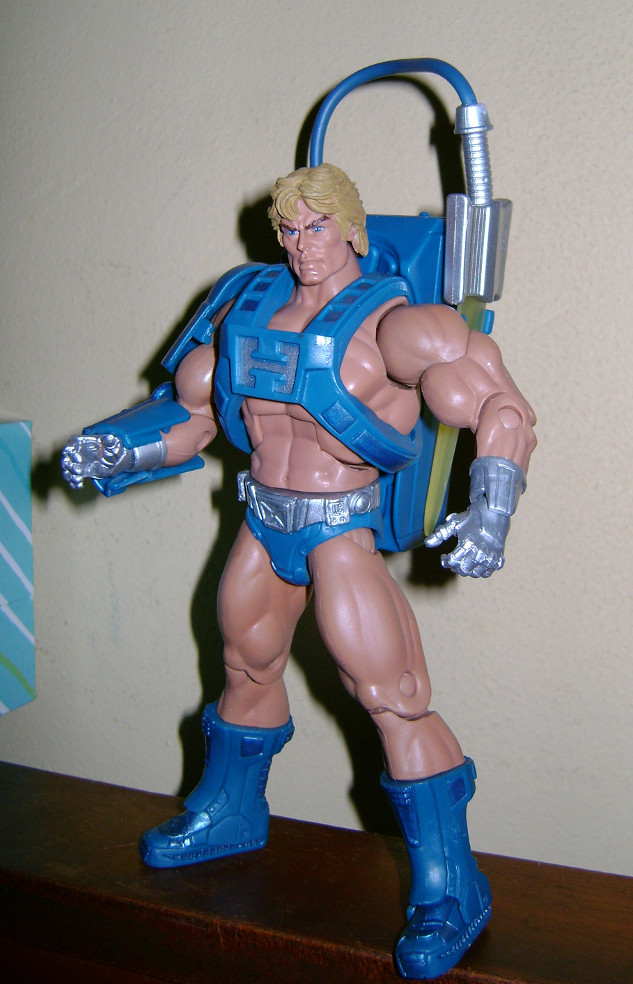 Las 11 Final MOTUC: Prahvus, Son Of He Man and Laser Power He Man With Laser Light Skeletor!