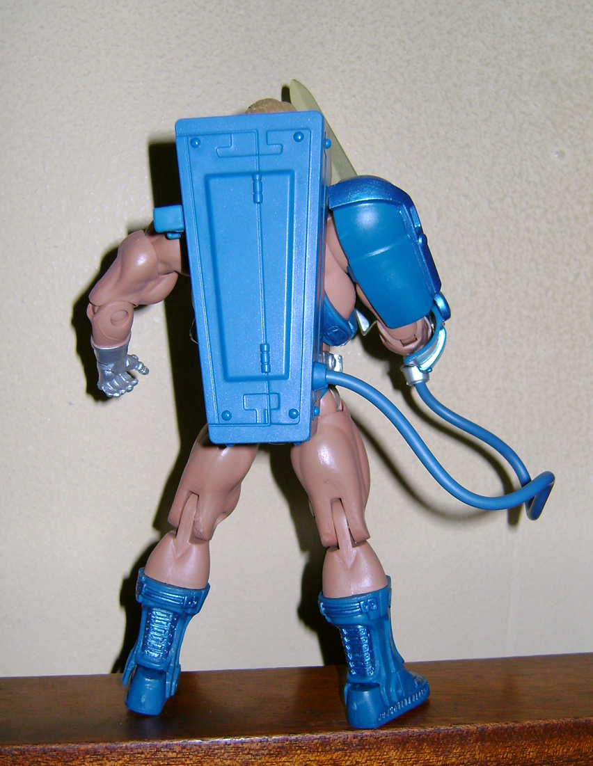 Las 6 Final MOTUC: Prahvus, Son Of He Man and Laser Power He Man With Laser Light Skeletor!