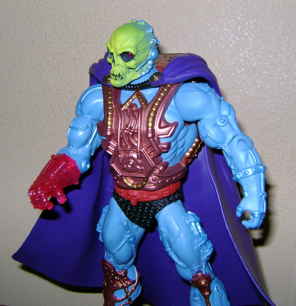 Las10 Final MOTUC: Prahvus, Son Of He Man and Laser Power He Man With Laser Light Skeletor!