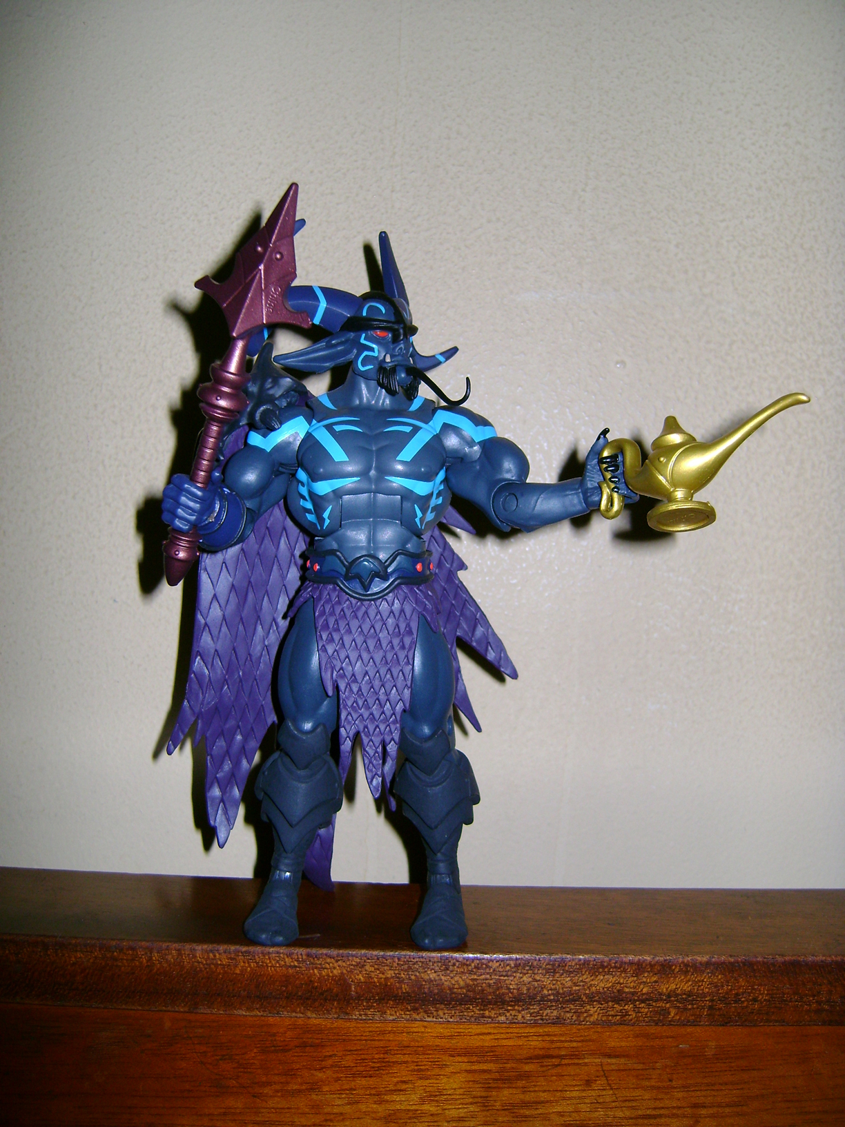 Pra 3 Final MOTUC: Prahvus, Son Of He Man and Laser Power He Man With Laser Light Skeletor!