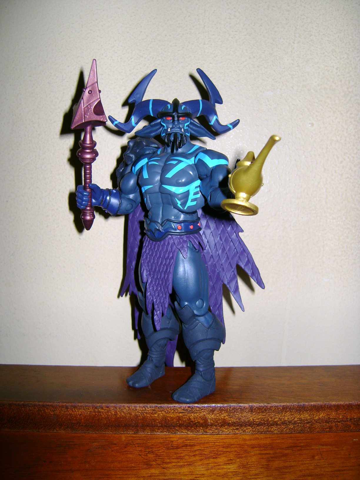 Pra 5 Final MOTUC: Prahvus, Son Of He Man and Laser Power He Man With Laser Light Skeletor!