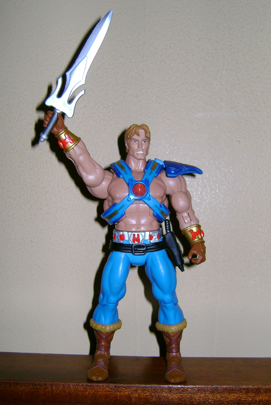 Son 3 Final MOTUC: Prahvus, Son Of He Man and Laser Power He Man With Laser Light Skeletor!