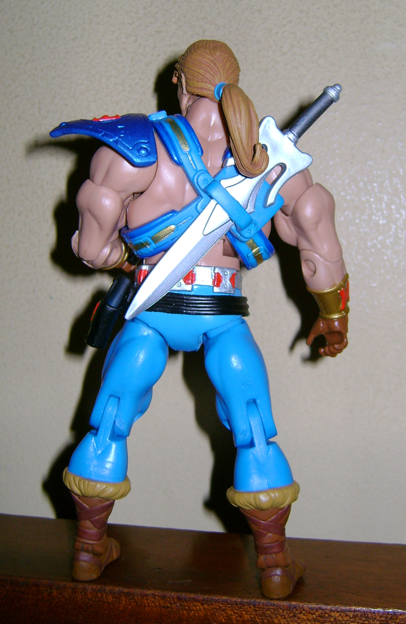 Son 7 Final MOTUC: Prahvus, Son Of He Man and Laser Power He Man With Laser Light Skeletor!
